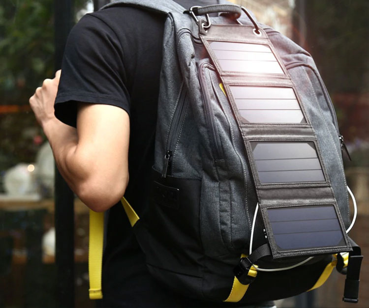 review solar charger suaoki