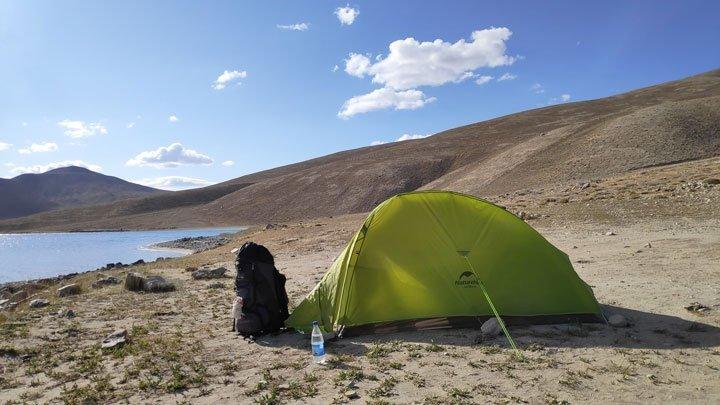 lake yashilkul in tajikistan