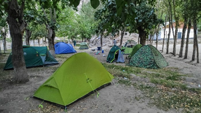Using the NatureHike tent in Tajikistan