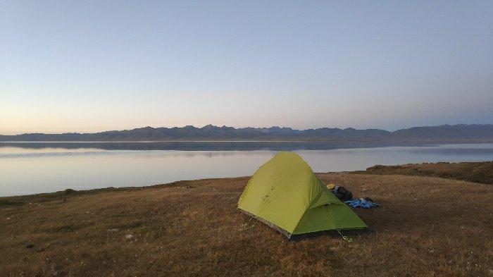 NatureHike CloudUp 2 Tent in Kyrgyzstan