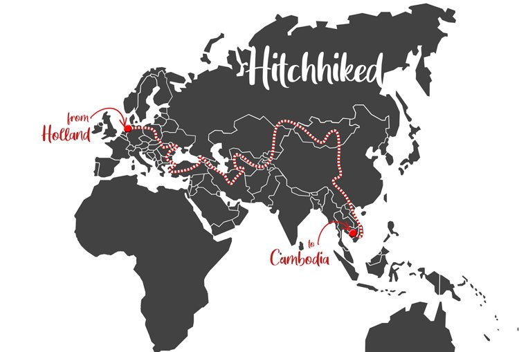 hitchhike map worldhitchhiker